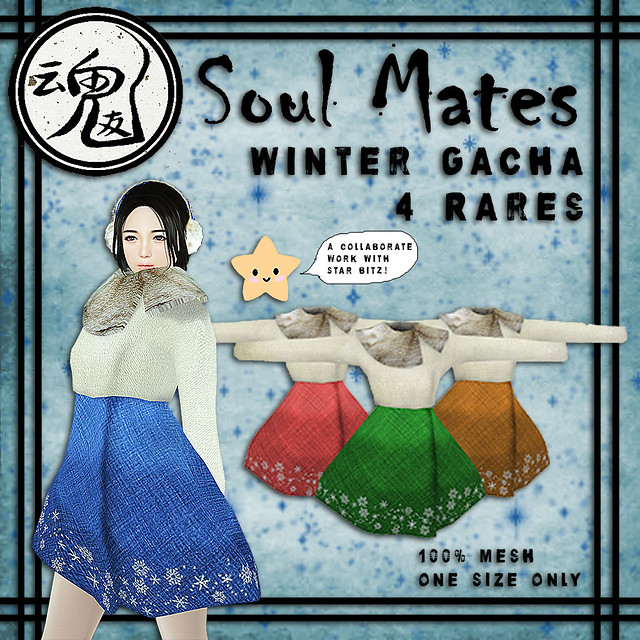 [Soul Mates] & .:{Star Bitz}:. Winter Gacha - Rares