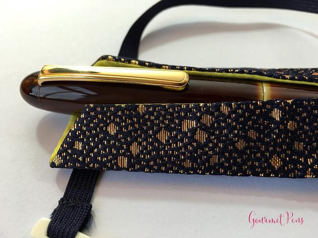 Review Nakaya Cigar Writer Heki-Tamenuri Fountain Pen (8)