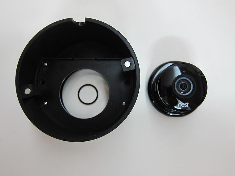 Nest Cam Case Outdoor Enclosure - Front with Nest Cam