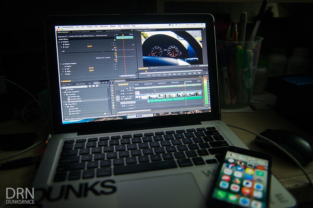 Editing.