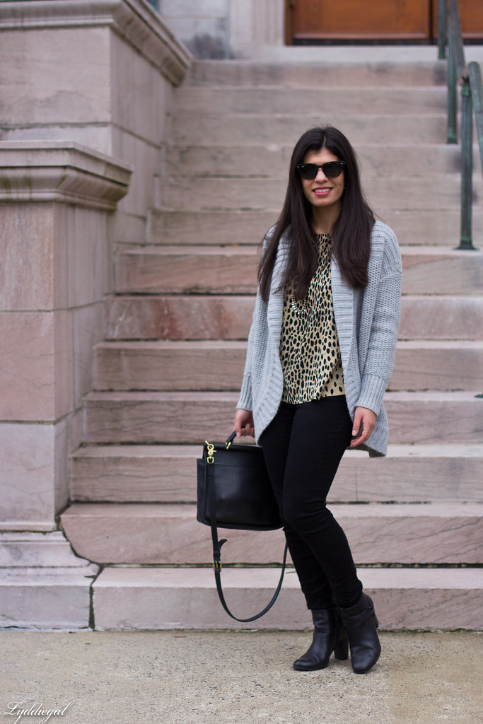 grey cardigan, leopard blouse, black denim, coach bag-1.jpg