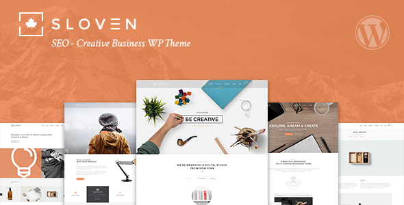 Themeforest Sloven SEO v1.5 - Creative Business WP Theme