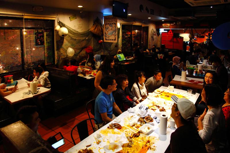 Shell Out Seafood Restaurant Kota Damansara