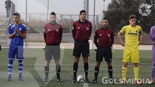 CF Escuelas San José - Villarreal CF. Liga autonómica CADETE David Ávila_