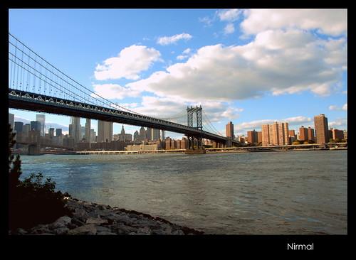 Manhattan Bridge in Fall 2015
