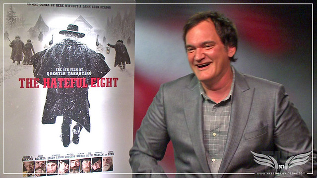 The Establishing Shot QUENTIN TARANTINO DISCUSSES THE HATEFUL EIGHT WITH THE ESTABLISHING SHOT- LONDON