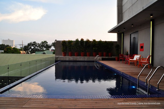 Pool Area at B Hotel Quezon City