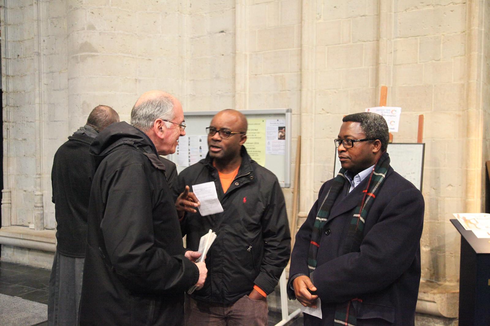 04/02/16: Des prêtres de Bruxelles rencontrent leurs évêques