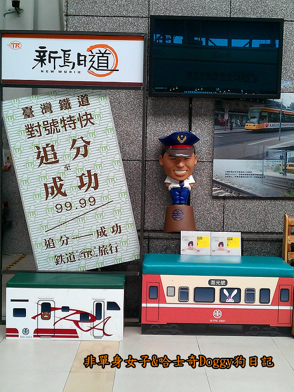 臺鐵新烏日vs高鐵台中站14