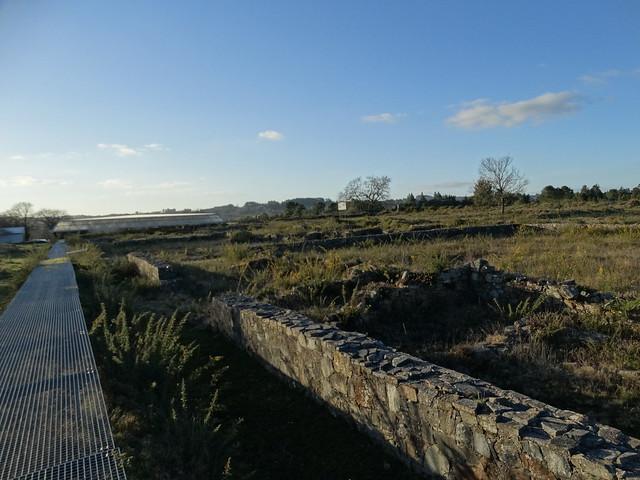 Campamento romano de Cidadela en Sobrado