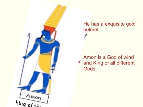 Y3 - EE (Ancient Egyptian Gods)