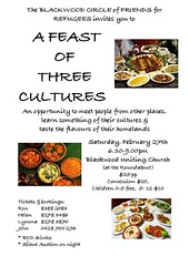 Blackwood Circle of Friends: Feast of Three Cultures
