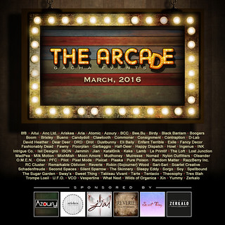 The Arcade - March 2016 Gacha Event Poster