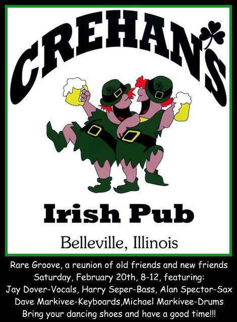 Crehan's Irish Pub 2-20-16