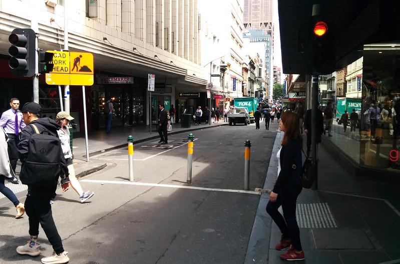 Little Collins St and Swanston St, Melbourne CBD