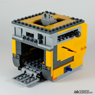 REVIEW LEGO 21303 WALL-E LEGO IDEAS 08