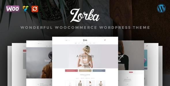 Themeforest ZORKA v1.1.8 - Wonderful Fashion WooCommerce Theme