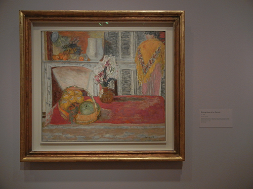 Pierre Bonnard, Legion of Honor, SF - Dining Area at Le Cannet_ 1857