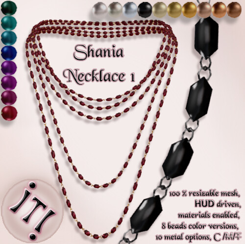 !IT! - Shania Necklace 1 Image