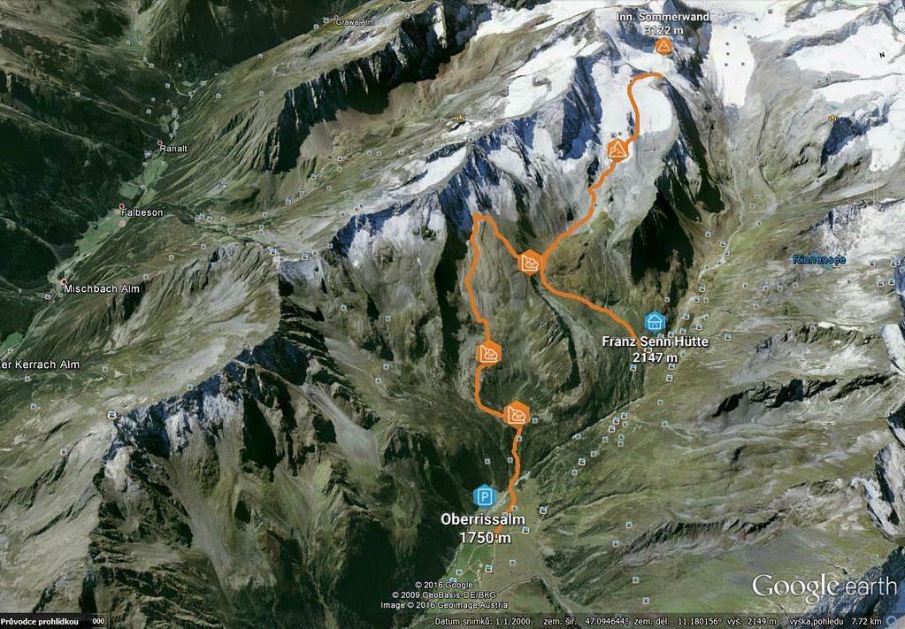 Innere Sommerwand  Stubaiské Alpy Austria photo 01