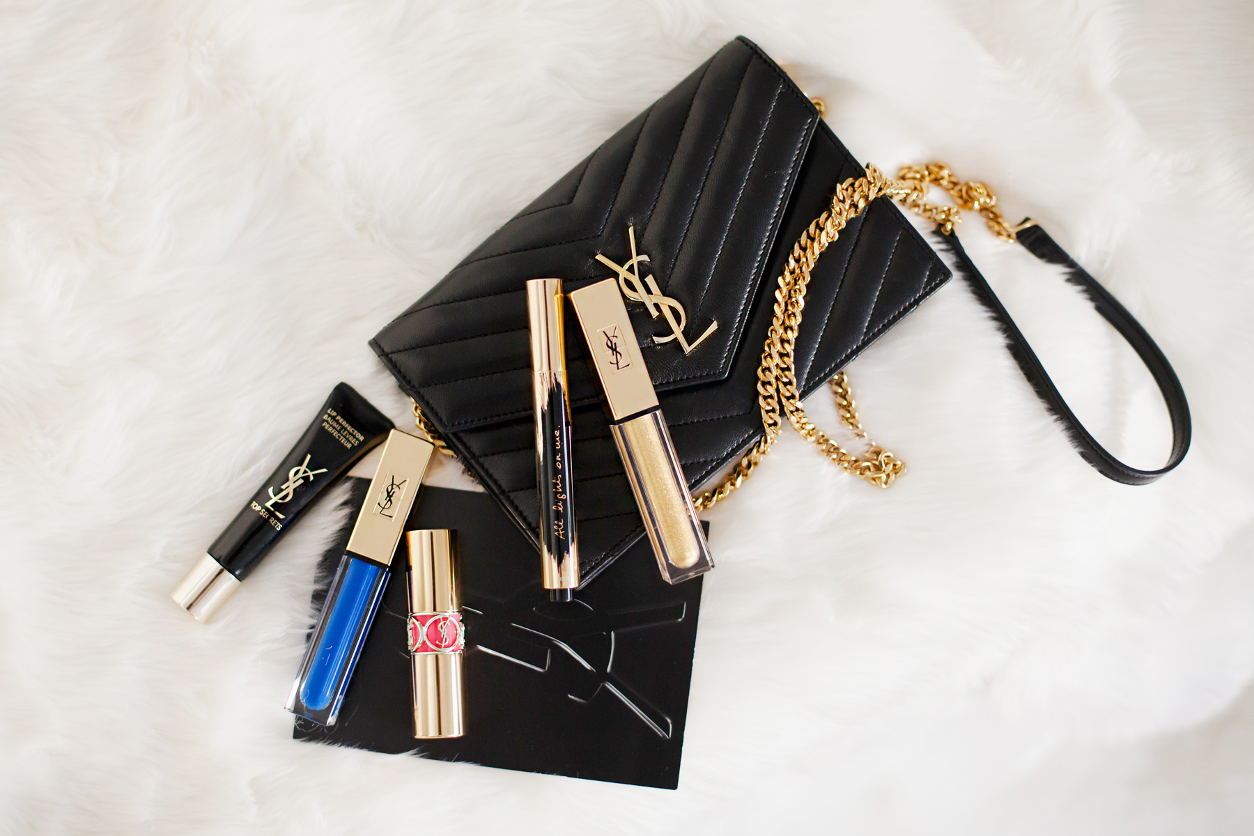 YSL Yves Saint Laurent Paris Beauty Beaute New Products Launch Lipstick Mascara Gold Eyelashes chic paris makeup beautyblogger cats & dogs blog ricarda schernus berlin dusseldorf blogger 3