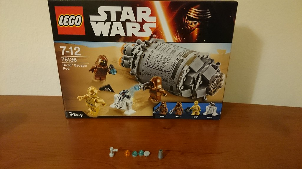 ThebrickReview: LEGO 75136 - (Star Wars) Droid Escape Pod (Pic Heavy!) 25611331200_8395a672c3_b