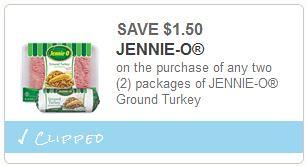 Jennie-O Ground Turkey and Breast Sticks