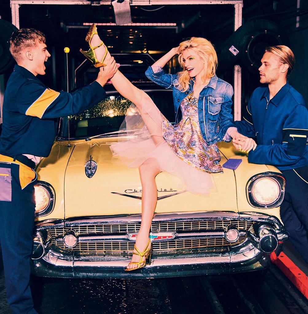 Джессика Стэм — Фотосессия для «Vogue» IT 2016 – 4