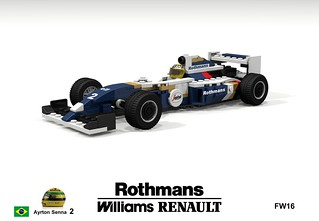 Williams Renault FW16 (#2 Ayrton Senna - 1994)