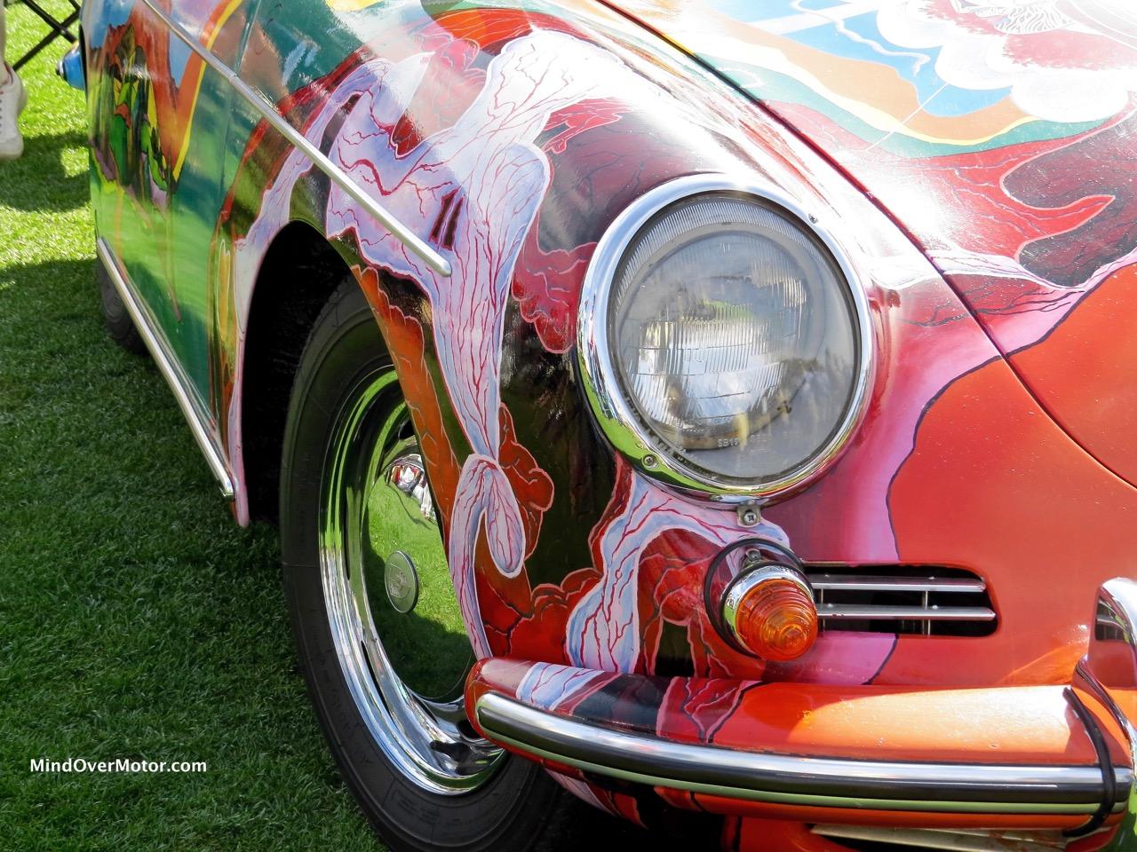 Janis Joplin Porsche 356C Side