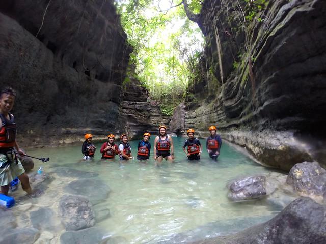 Kawasan Canyoneering Team Bagets
