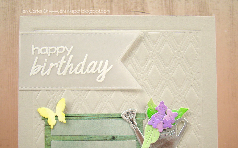 Jen Carter Potted Flower Birthday Closeup 3
