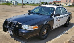 Fort Worth, TX Police Ford Crown Victoria