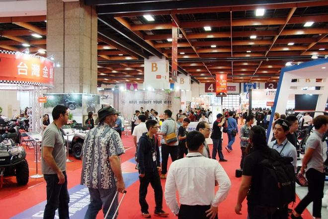 2016台北國際汽機車零配件四聯展,吸引許多國外買主前來參觀