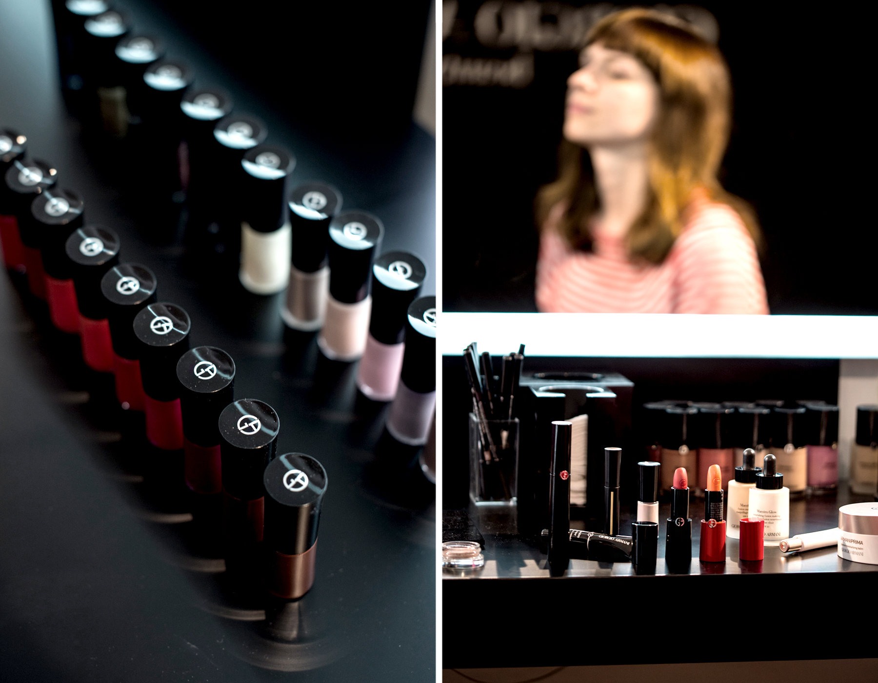 armani beauty giorgio armani make up shoot paris beautylab style cool spring summer newin lipstick rouge beautyblogger cats &dogs ricarda schernus fashionblogger berlin düsseldorf 5