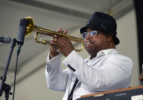 Nicholas Payton on Day 5 of Jazz Fest 2016