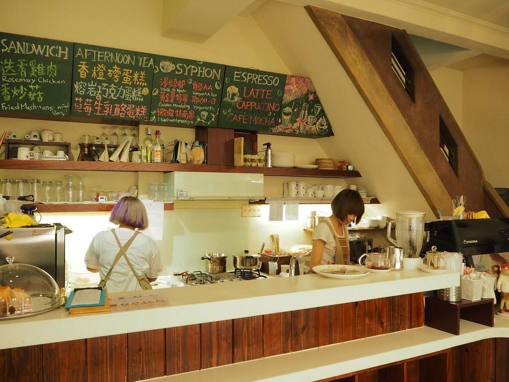 正興咖啡館カウンター