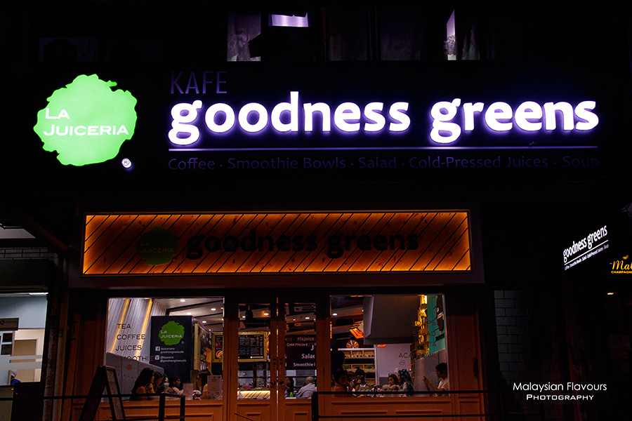 Goodness Greens Cafe by La Juiceria TTDI