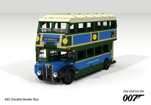 AEC Regent III RT246 1947 (James Bond - 'Live and Let Die' - 1973)
