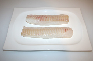 02 - Zutat Kabeljau-Filet / Ingredient cofish filet