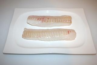 02 - Zutat Kabeljau-Filet / Ingredient cofish filet
