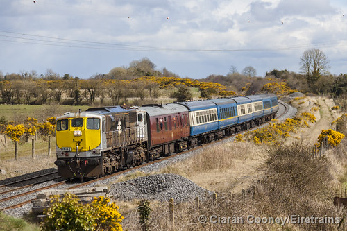 IE 083 Dublin-Limerick 'IRRS Railtour', Ballybrophy Bank