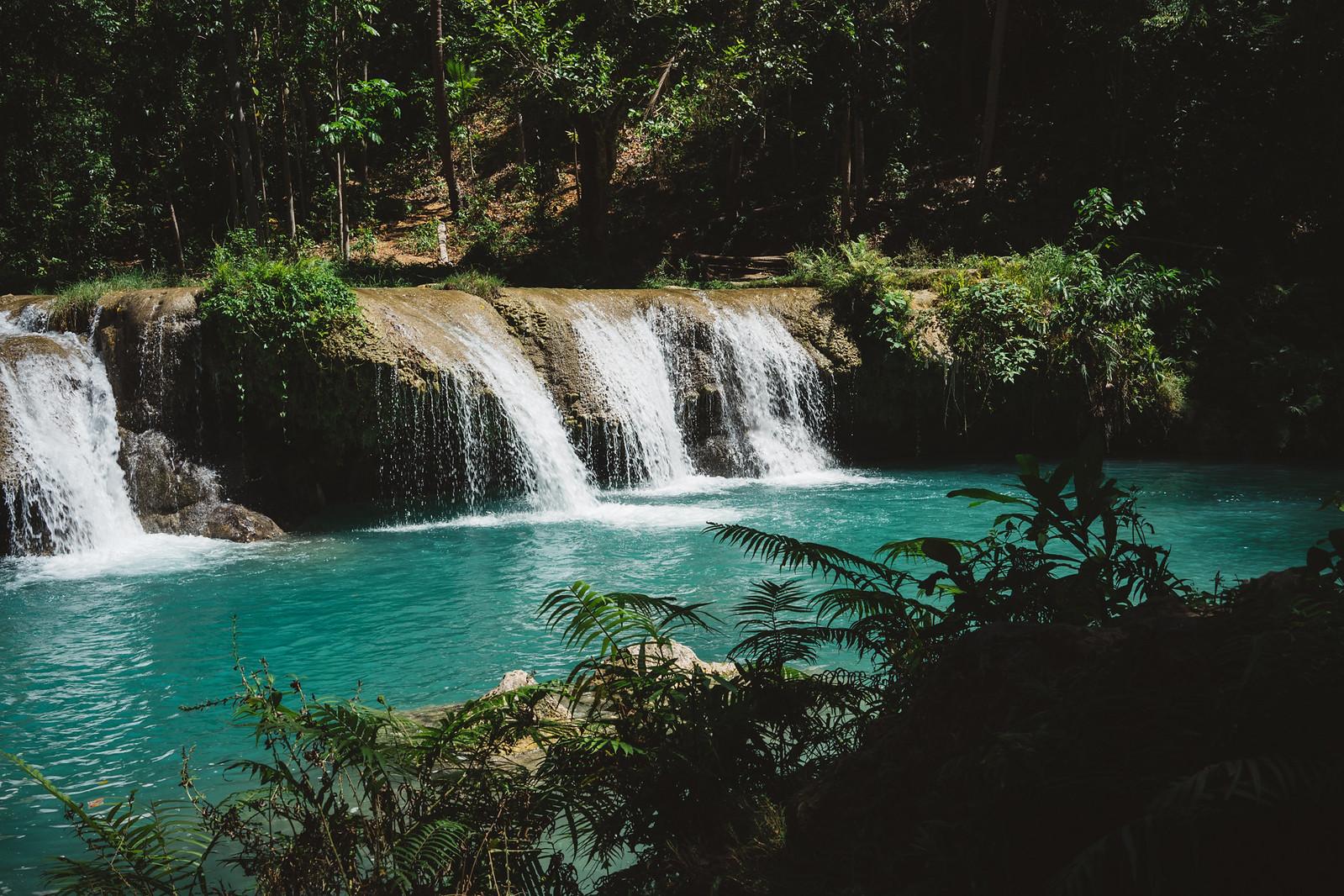 1/3 Cambugahay Falls.