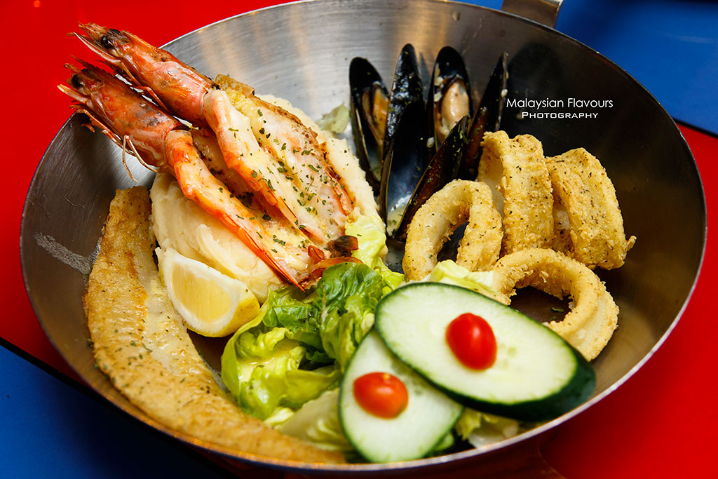 Fish & Co. Malaysia Set Lunch Menu seafood lunch platter