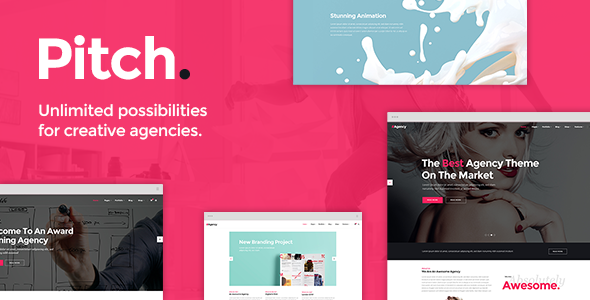 Pitch v1.4.1 - A Theme for Freelancers and Agencies