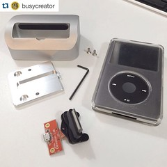 #Repost @busycreator ・・・ Shout out to the fine folks at @elevationlab for sending me a replacement circuit board for my 1st gen iPod dock. I was a @kickstarter backer and have used their doc faithfully for years until the previous board broke. Further pro