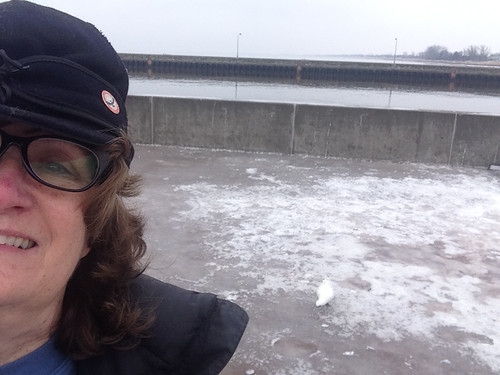 Selfie of me and the Ivory Gull!