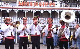 Mississippi Showboat - Band