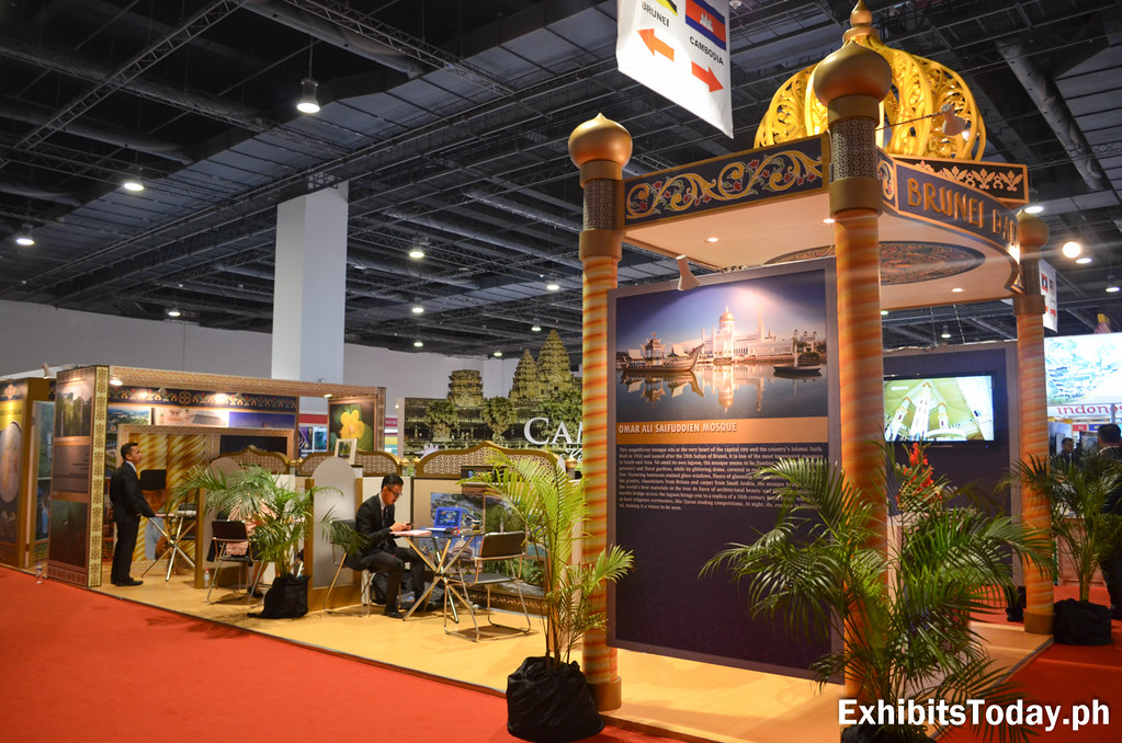Brunei Darussalam Trade Show Display