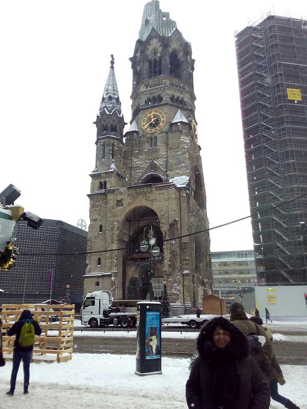 Gedächtniskirche , Berlin natal 2015